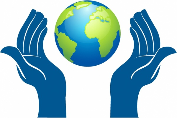 Planet Earth In Hands Free vector in Adobe Illustrator ai ( .AI.
