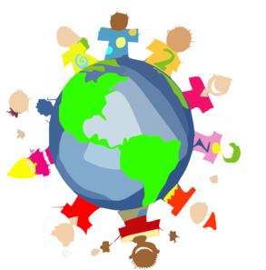 World In Hands Clipart.
