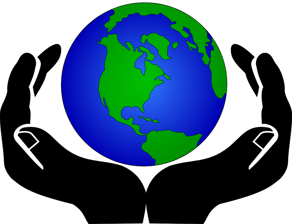 Free illustration: Hands, Keep, Globe, Protection.