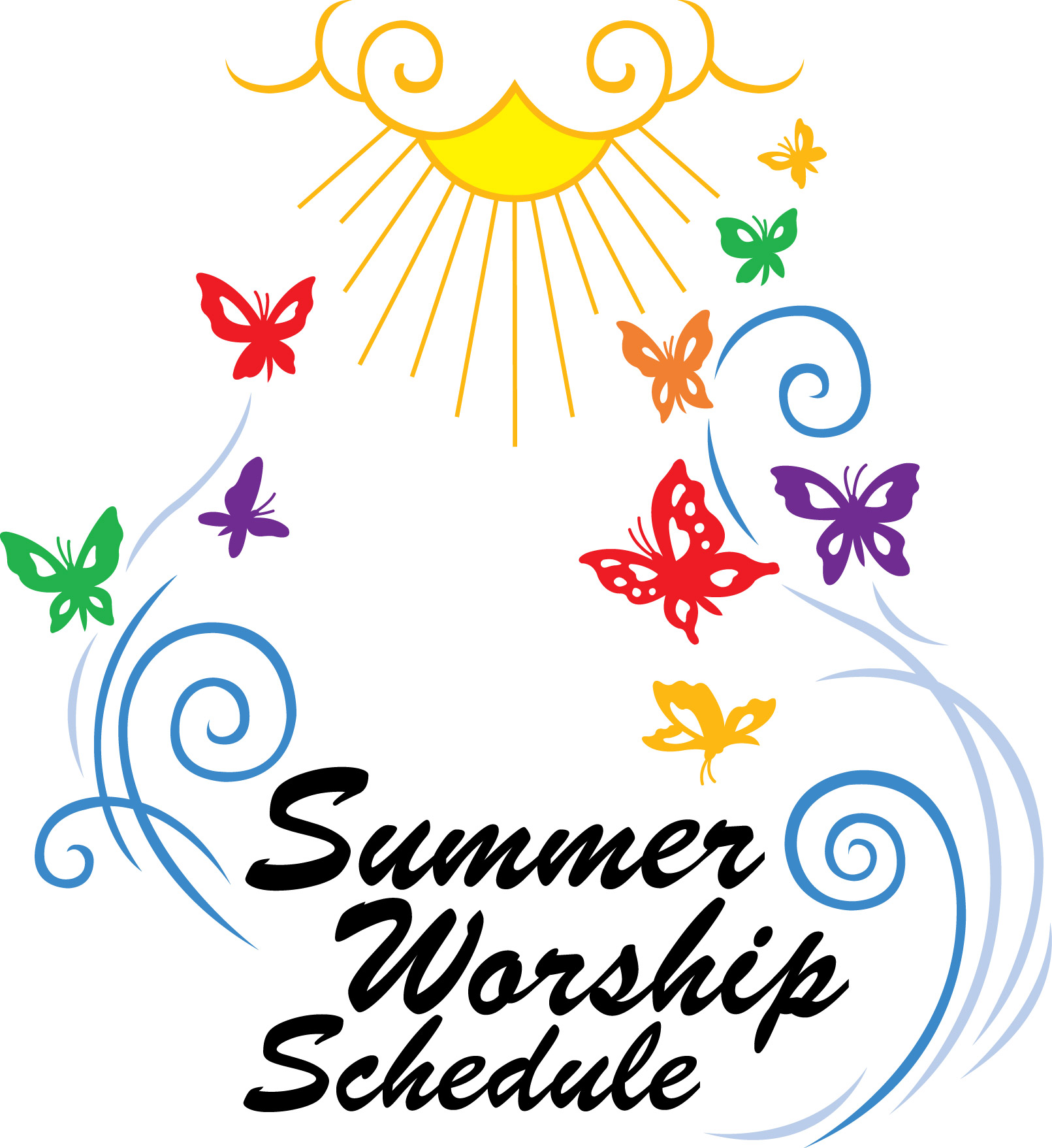 1454 Worship free clipart.