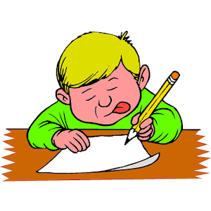 Clipart Writing Images.