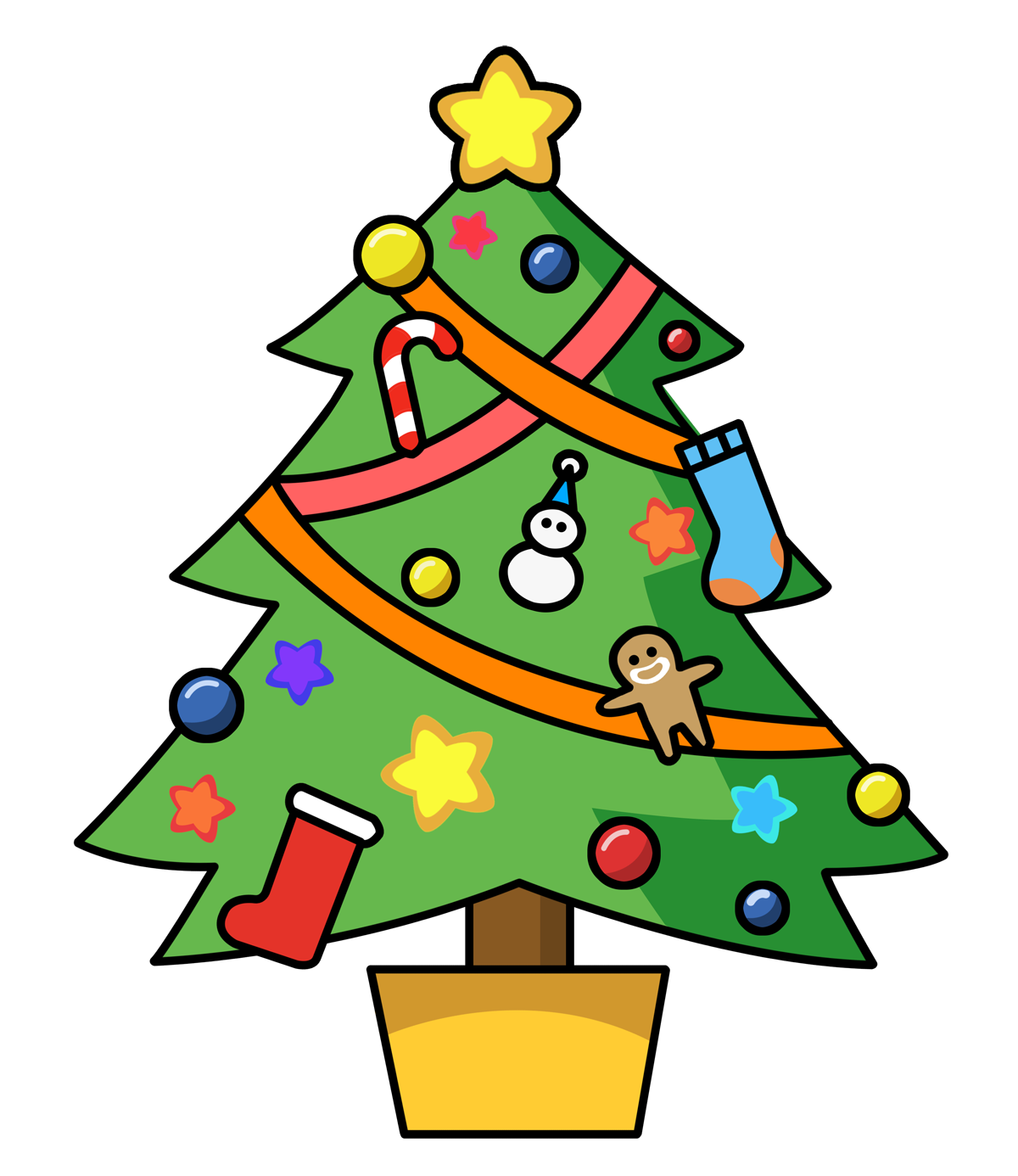 Christmas clip art free clipart images 2.