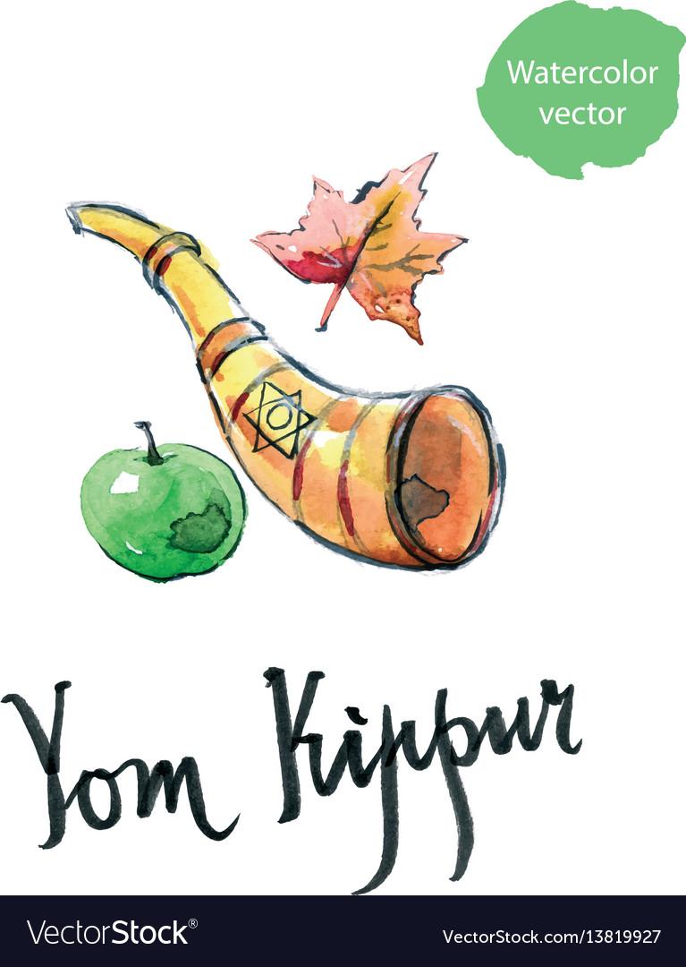 Yom kippur jewish holoday.