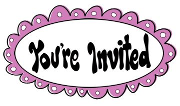 you\'re invited clipart 2.