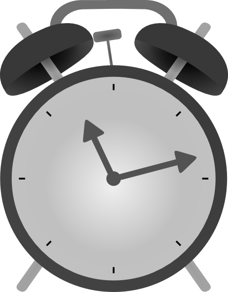 Alarm Clock clip art Free vector in Open office drawing svg ( .svg.