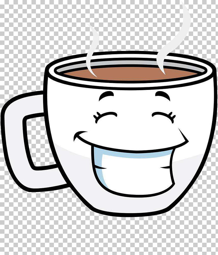 Coffee cup Tea Cafe Cartoon, Coffee Mug, coffee mug PNG.