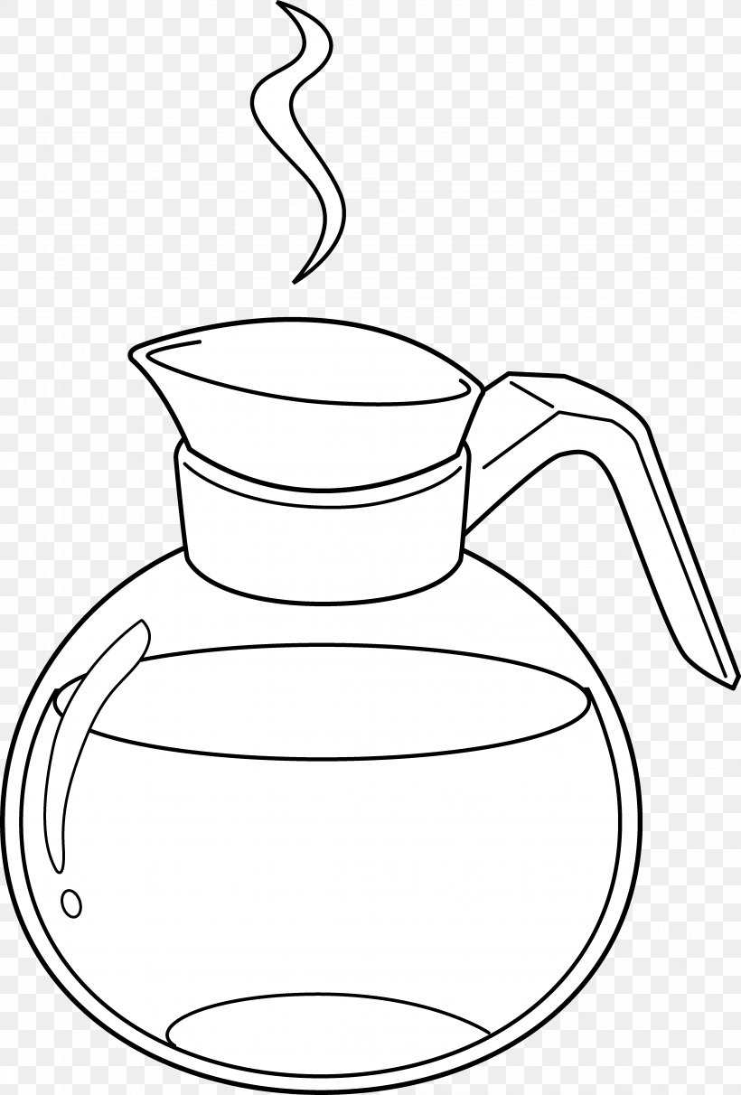 Coffeemaker Cafe Brewed Coffee Clip Art, PNG, 4696x6946px.