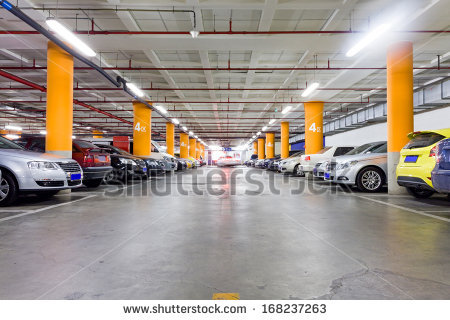 Parking Garage Stock Images, Royalty.