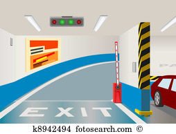 Parking garage Clip Art and Illustration. 1,245 parking garage.