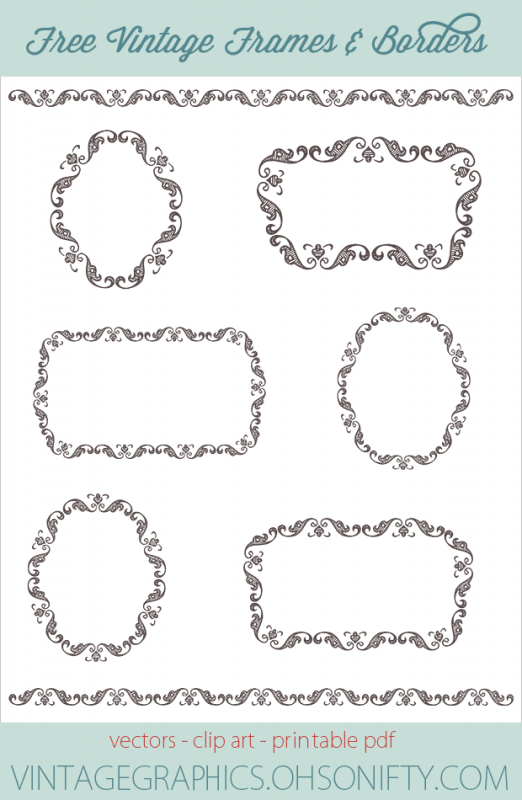 free color clipart photo frame borders - Clipground