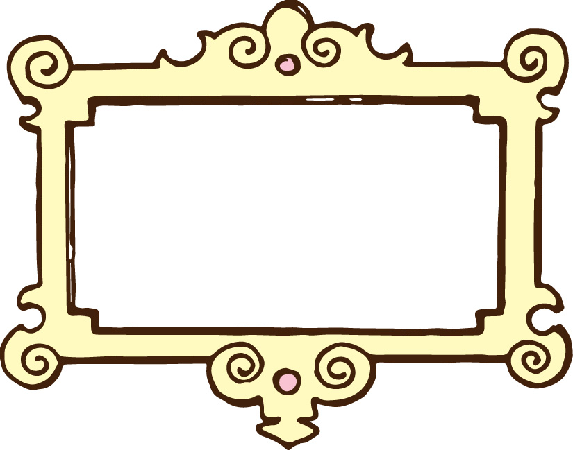 free color clipart photo frame borders #12