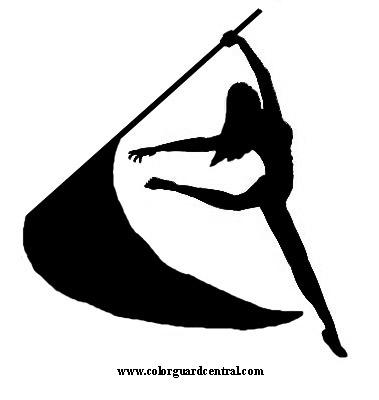 Color Guard Logo Clipart.