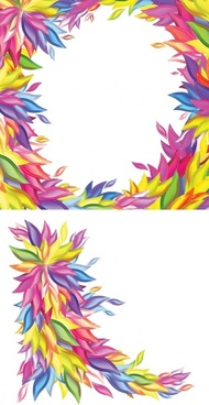 Colorful border free vector download (33,967 Free vector.