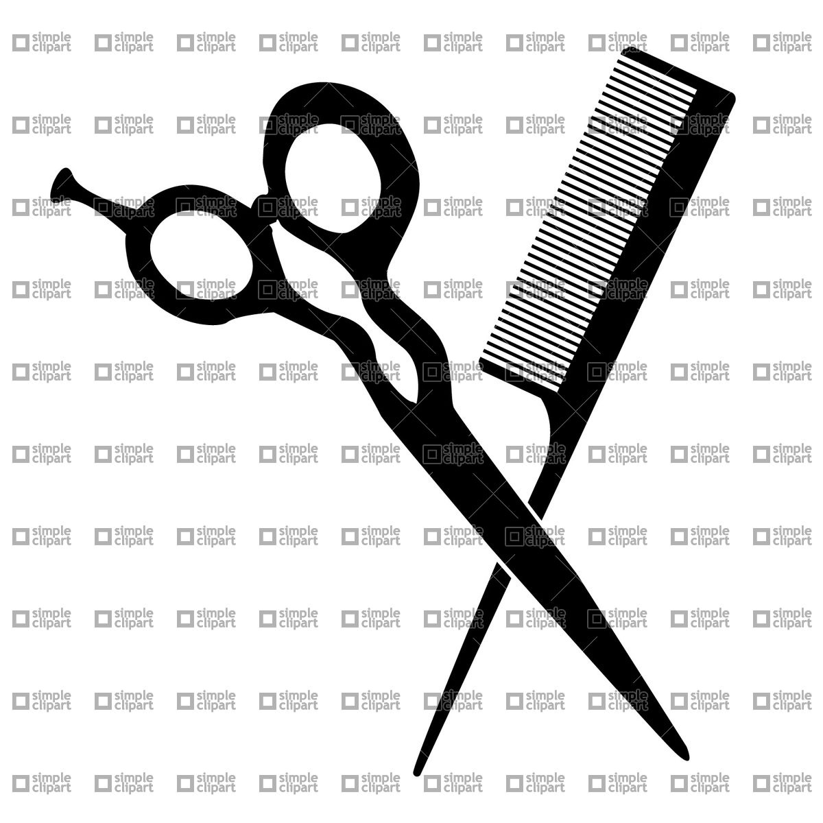 Barbershop pictogram.