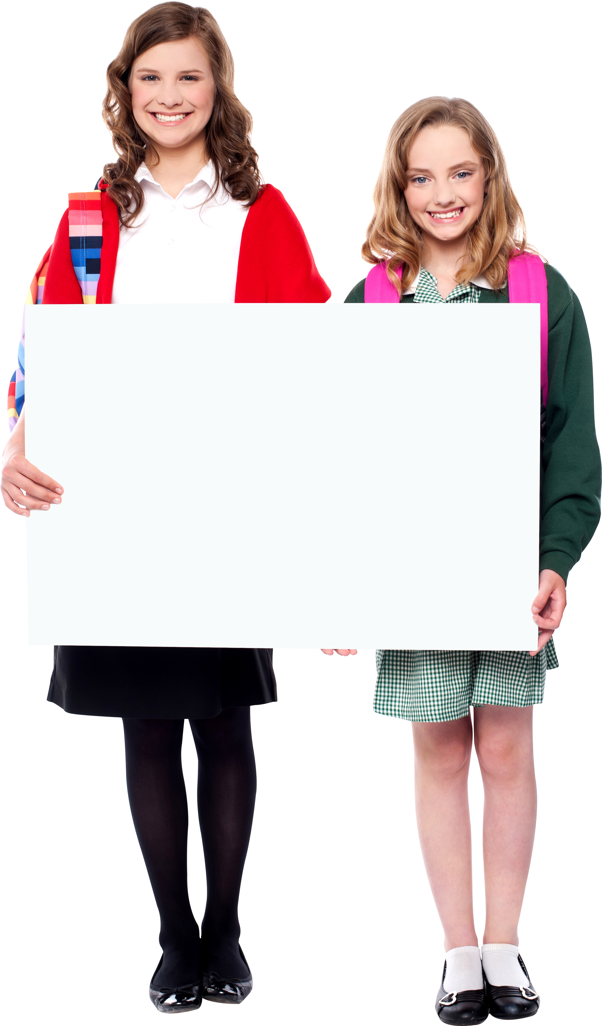 HD People Holding Banner Free Commercial Use Png Image.