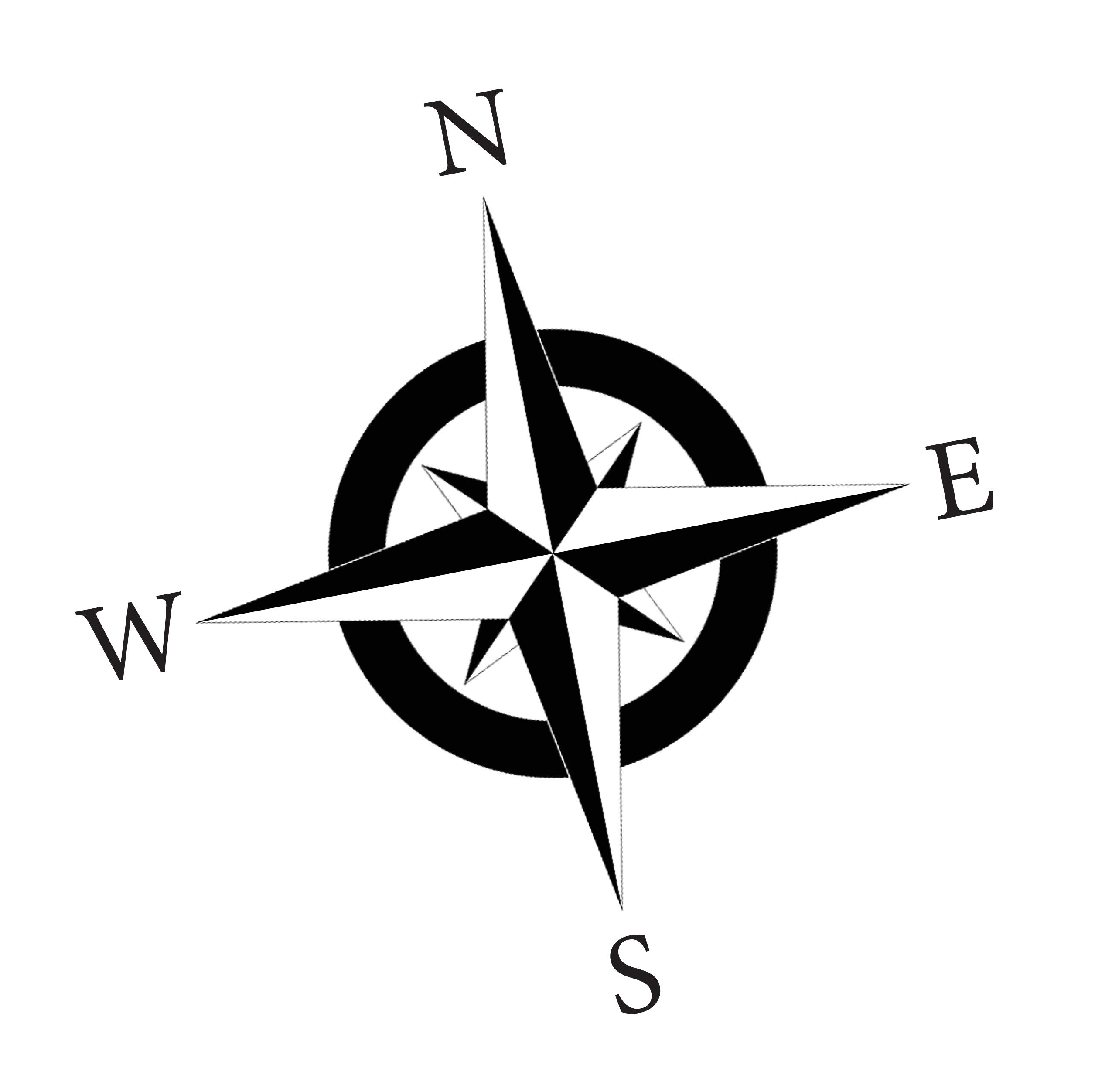 Free Compass Rose Clip Art.