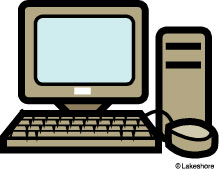 Free Computer Clipart For Teachers.