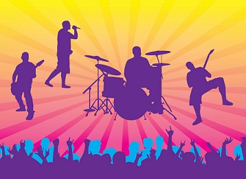 Free Concert Clipart.