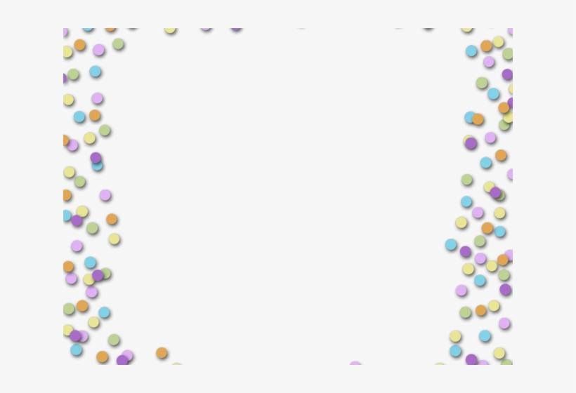 Confetti Clipart Page Border.