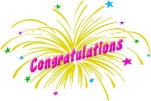 66 Free Congratulations Clipart.
