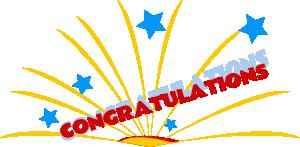 Free Congratulations Clipart.
