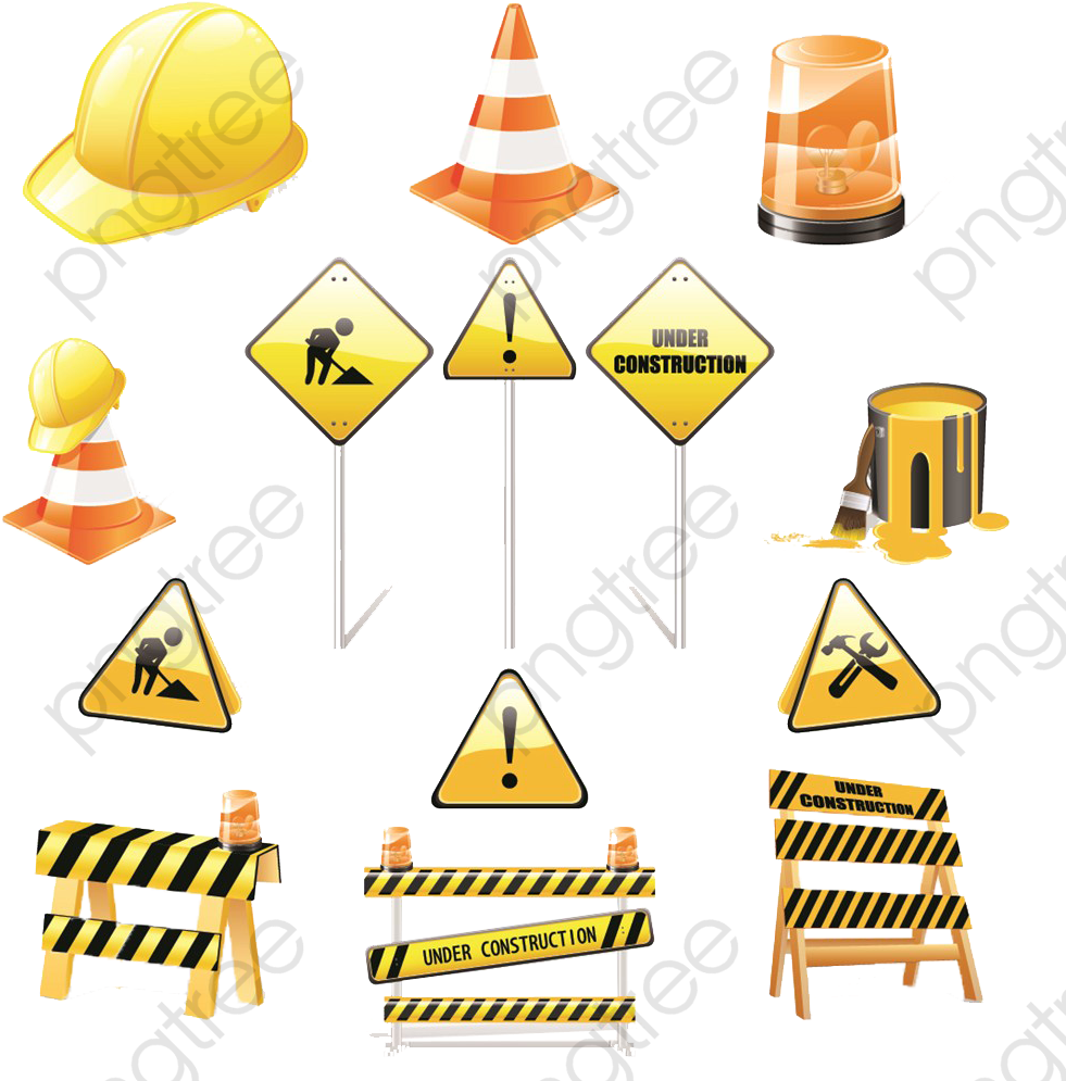 Safety Clipart Construction.
