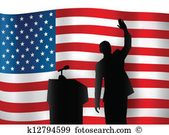 Political convention Clip Art and Illustration. 156 political.