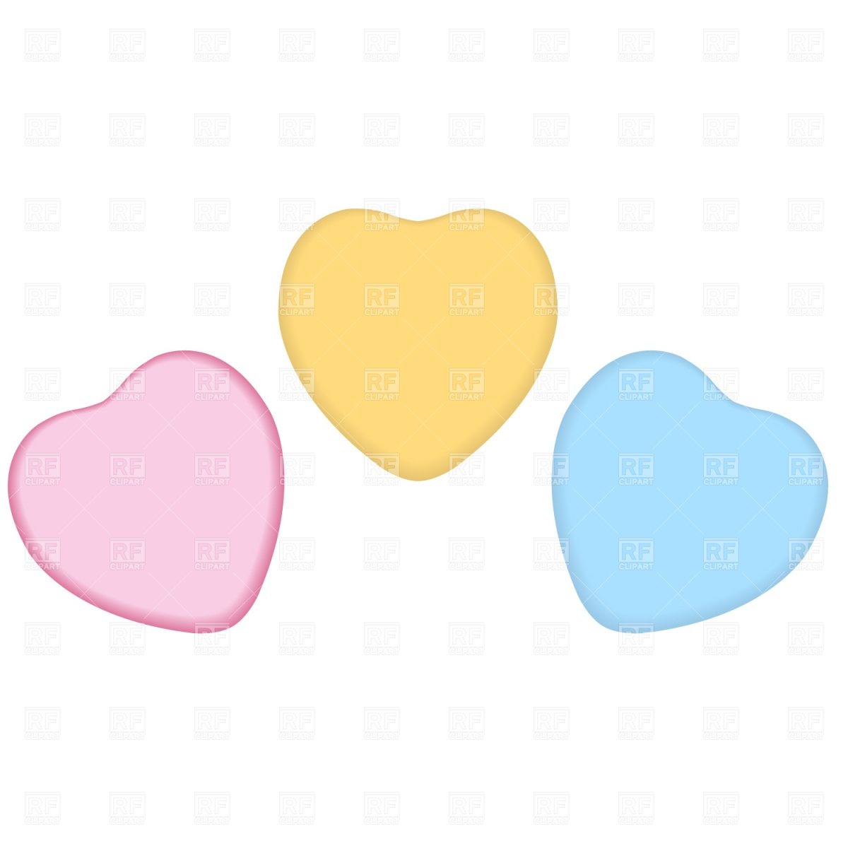 Candy Heart Clipart Free.
