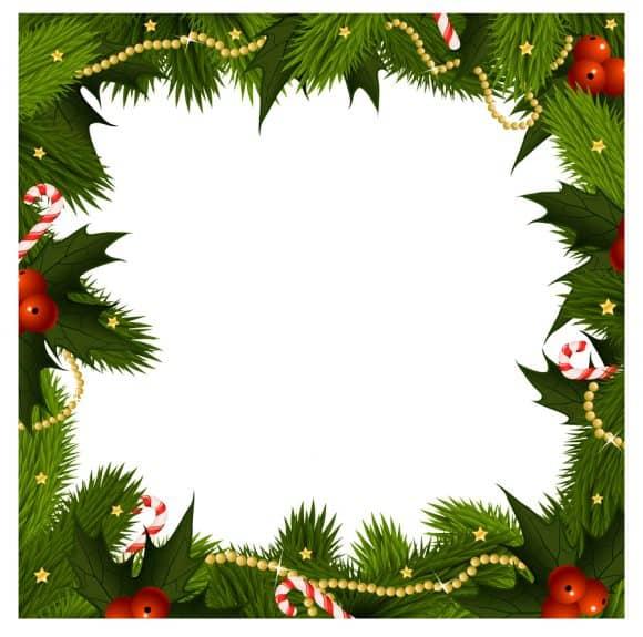 40+ FREE Christmas Borders and Frames.