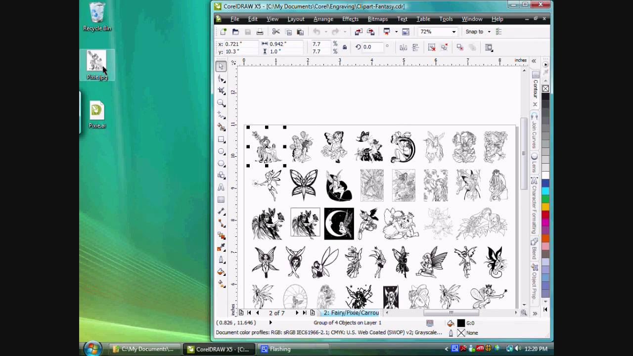 Coreldraw clipart library 3 » Clipart Station.