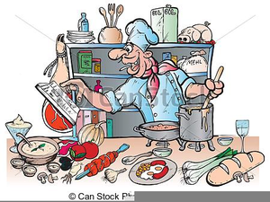 Clipart Country Kitchen.