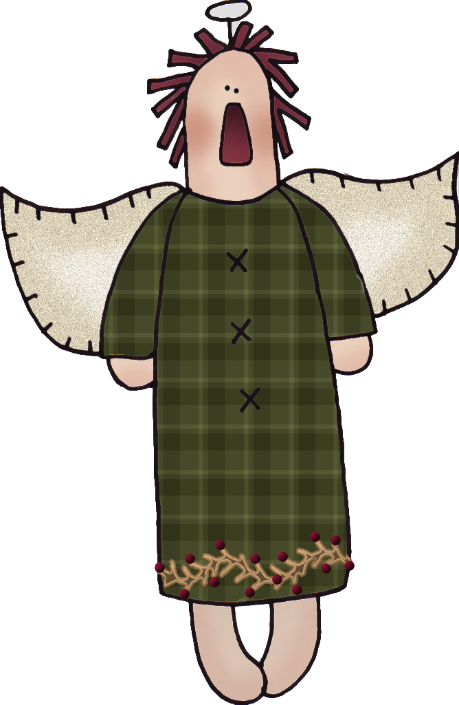Free Raggedy Angel Graphic Country Art, Country Primitive.