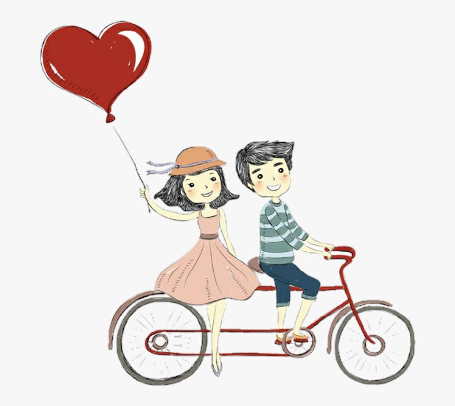 love #romantic #bike #heart.