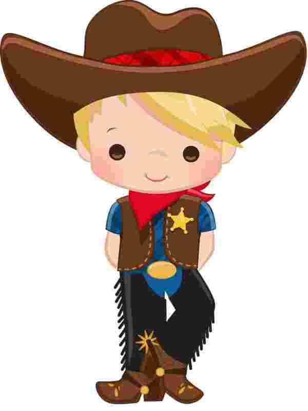 Cliparts Library: Free Clipart Cowboys.