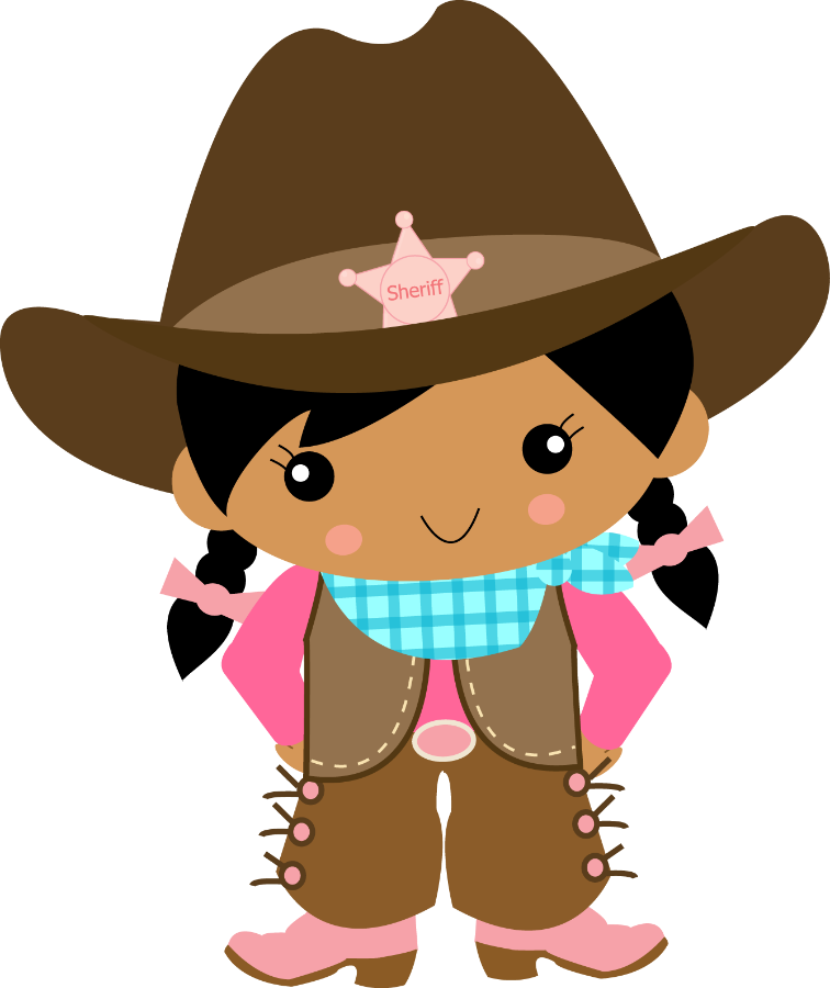 Image Royalty Free Cowgirl Clipart.