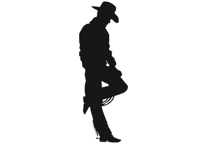 Free Cowboy Silhouette, Download Free Clip Art, Free Clip.