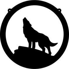 Coyote Silhouette Clip Art Free.