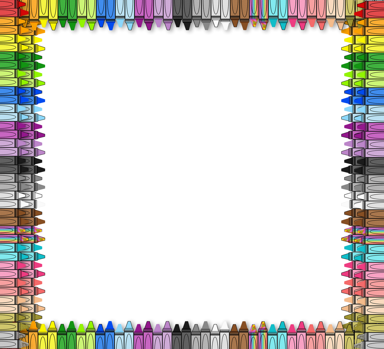 Free Crayon Border Png, Download Free Clip Art, Free Clip.