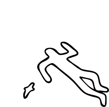 Crime Scene clip art Free vector in Open office drawing svg.