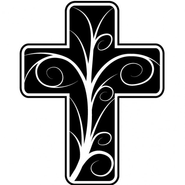 Free christian cross clipart.