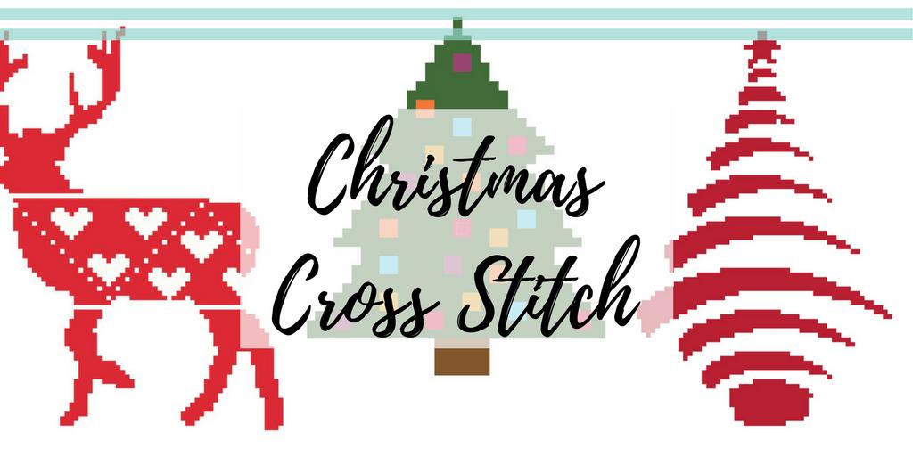 Free Christmas cross stitch patterns.