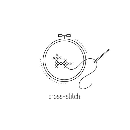 9,118 Cross Stitch Cliparts, Stock Vector And Royalty Free Cross.