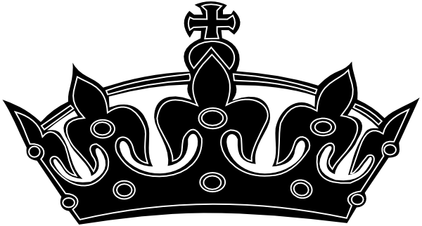 Free Black And White Crown, Download Free Clip Art, Free.
