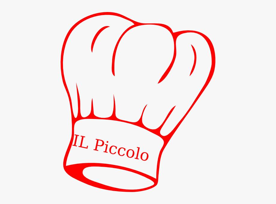 Cocinero Piccolo Clip Art.