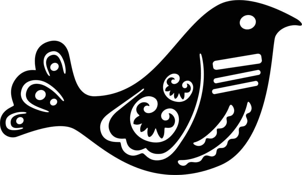 Free Ornamental bird.