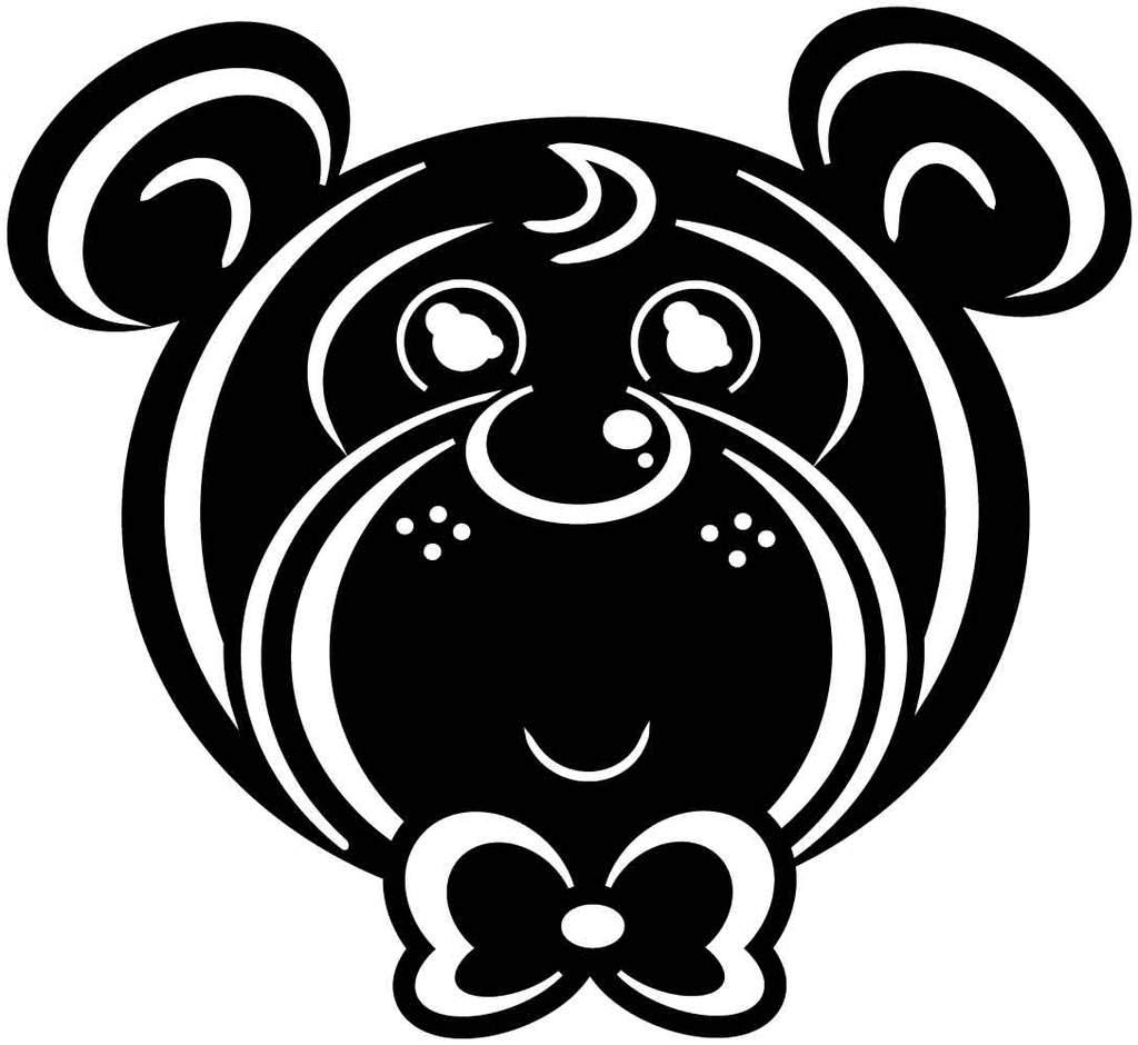 Teddy Bear Baby Free DXF file.