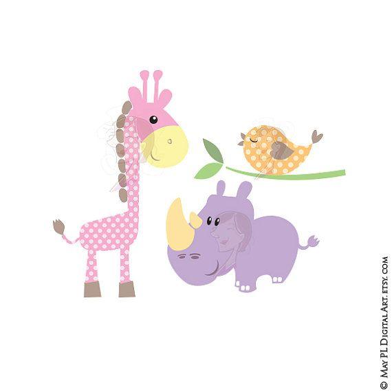 Baby Animals Clipart.