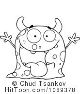 Monsters Clipart #1.