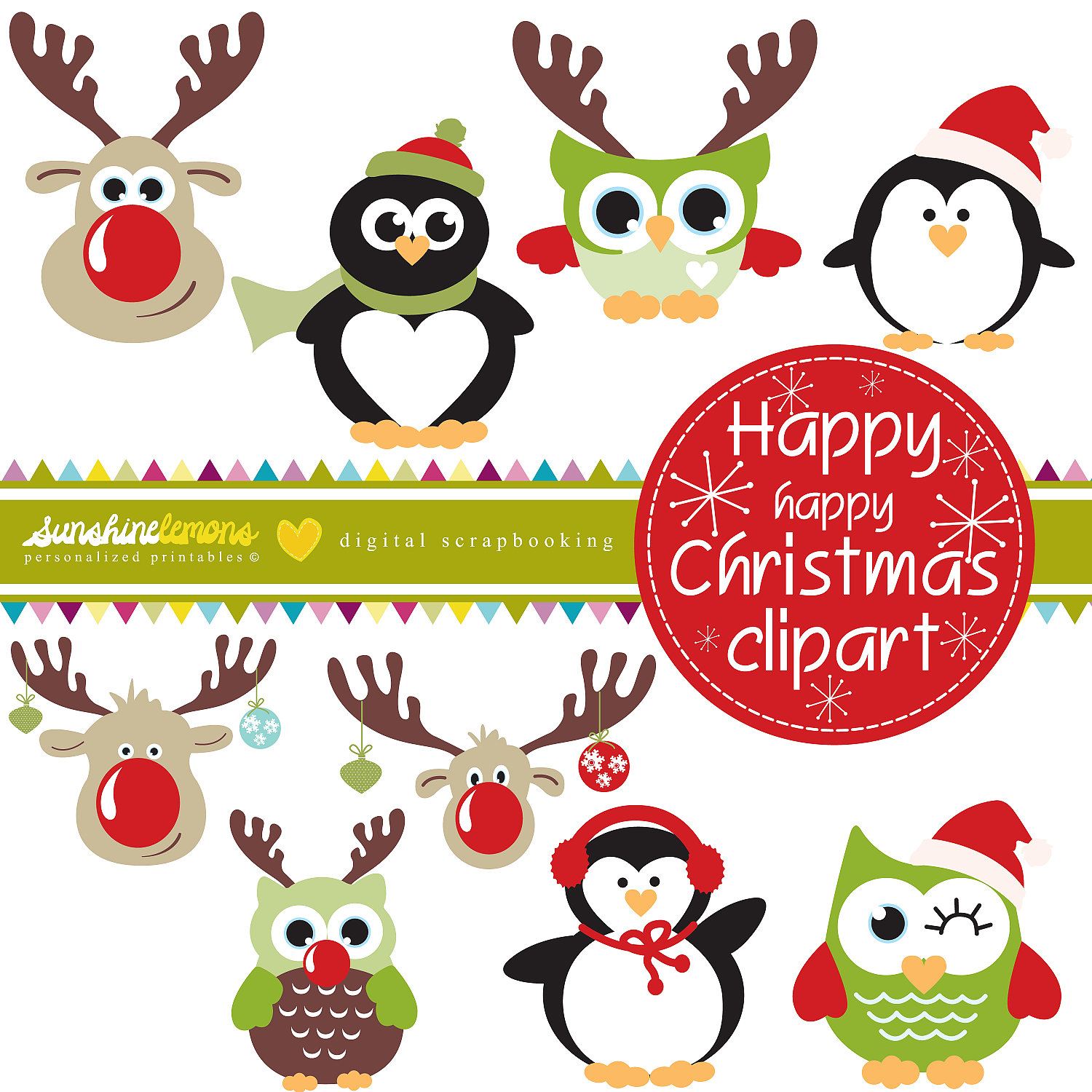 Happy Happy Christmas Clipart Christmas By SunshineLemons.