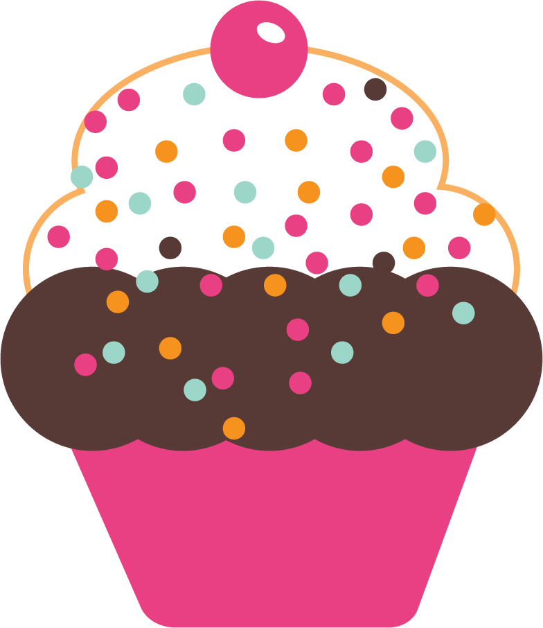 Free Cute Cupcakes Graphics.